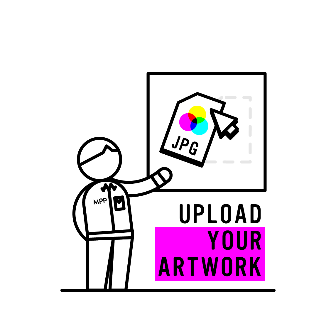 upload your artwork